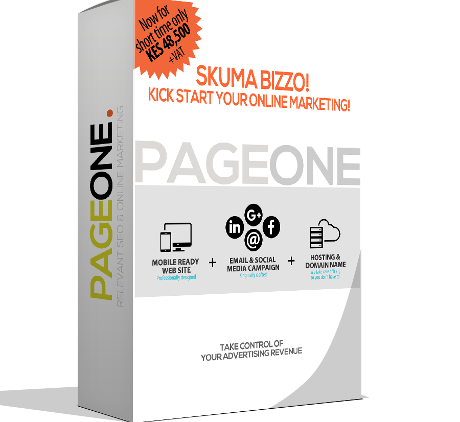 SKUMA BIZZO Online Marketing package for SME's & Start Ups